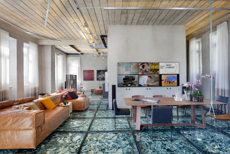 Lab LZ by GT - Casa Cor 2015: Salas multimídia modernas por Gisele Taranto Arquitetura