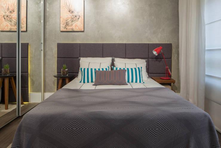 Спальная комната  в . Автор – SESSO & DALANEZI