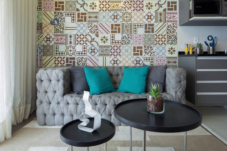 Vila Madalena | Decorados: Sala de estar  por SESSO & DALANEZI