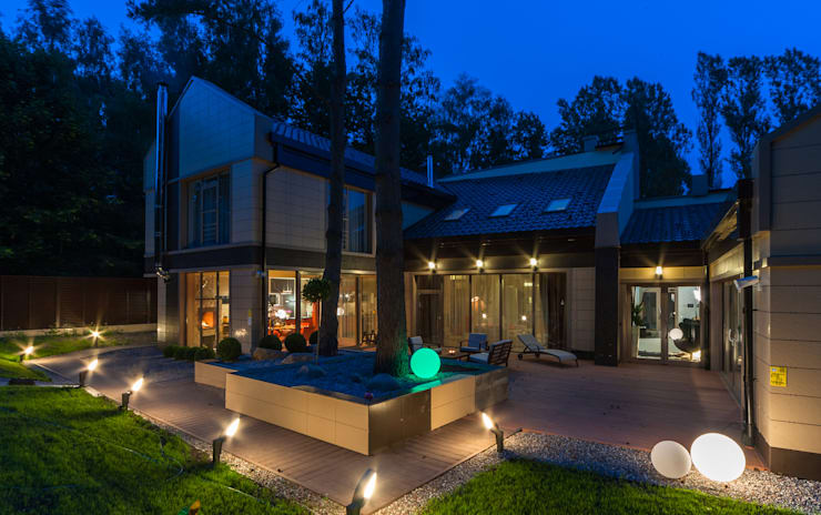 Maisons de style de style Moderne par Asiya Orlova Interior Design