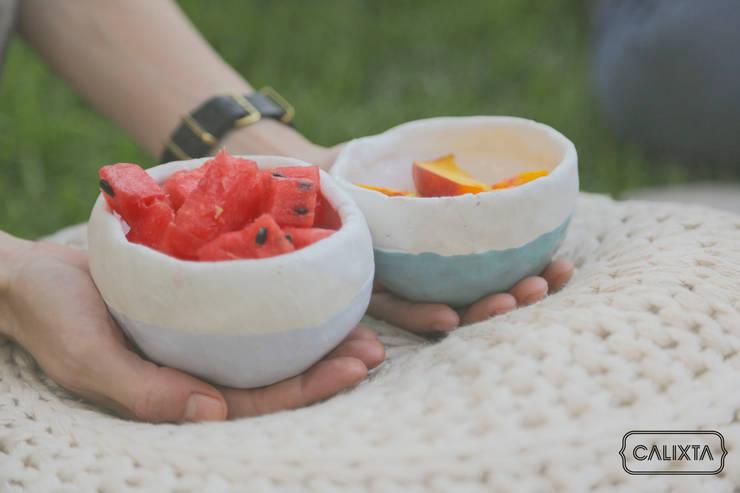 Mini bowls para antojos.: Cocina de estilo  por Calixta