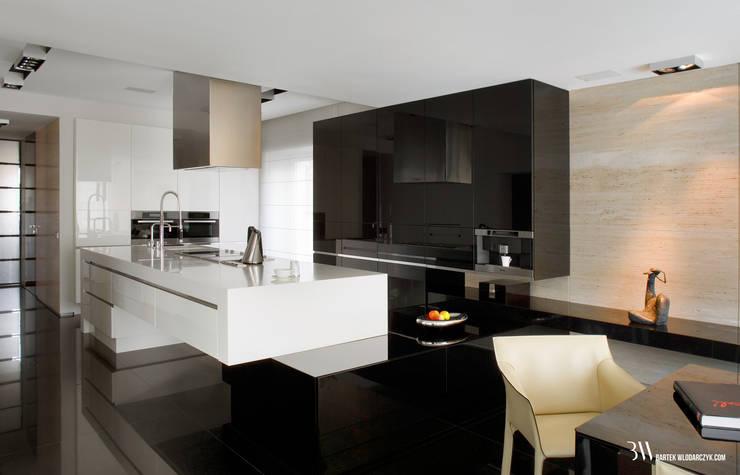 Cocinas de estilo minimalista de Bartek Włodarczyk Architekt Minimalista