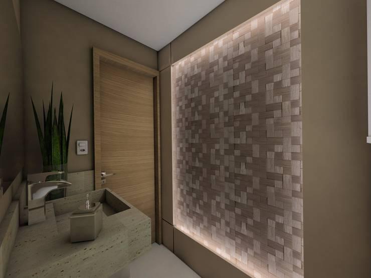 Baños de estilo  por Ricardo Cavichioni Arquitetura