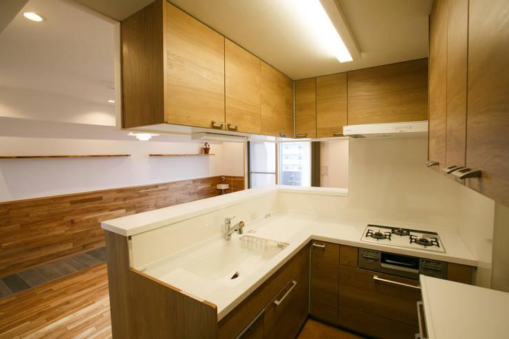 キッチン: 株式会社 駿河屋が手掛けたです。