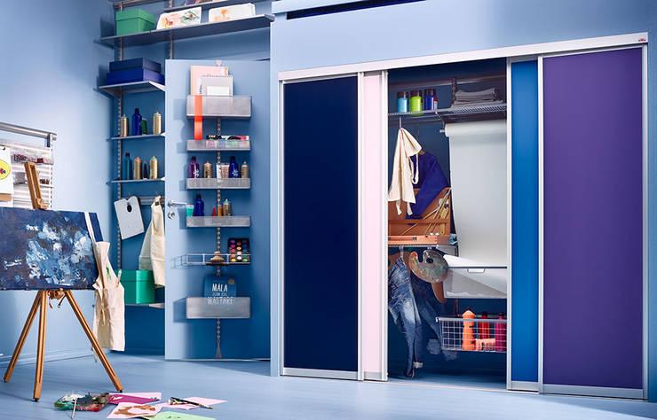 Mehr Platz für Kreativität im Kinderzimmer:  Kinderzimmer von Elfa Deutschland GmbH