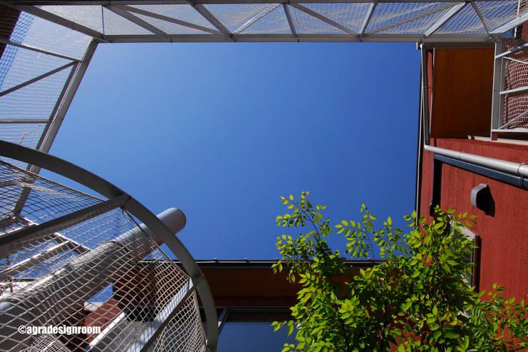 パティオ・・・中庭: アグラ設計室一級建築士事務所 agra design roomが手掛けた庭です。