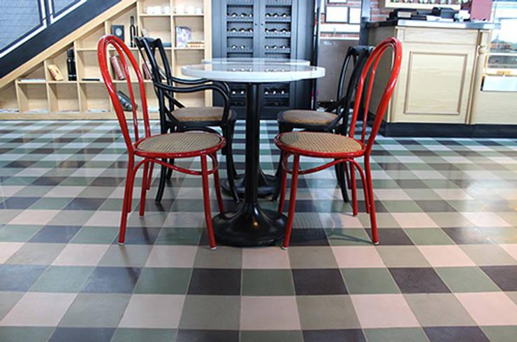 Karosiman Desenli Yer Karoları – Cement Tile / Mandolin Cafe:  tarz Duvarlar