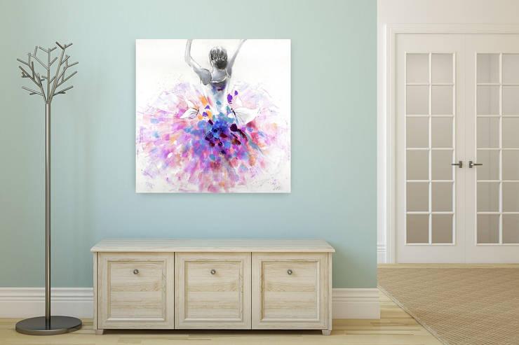 Gemälde & Wandbilder fürs Kinderzimmer von KUNSTLOFT | homify