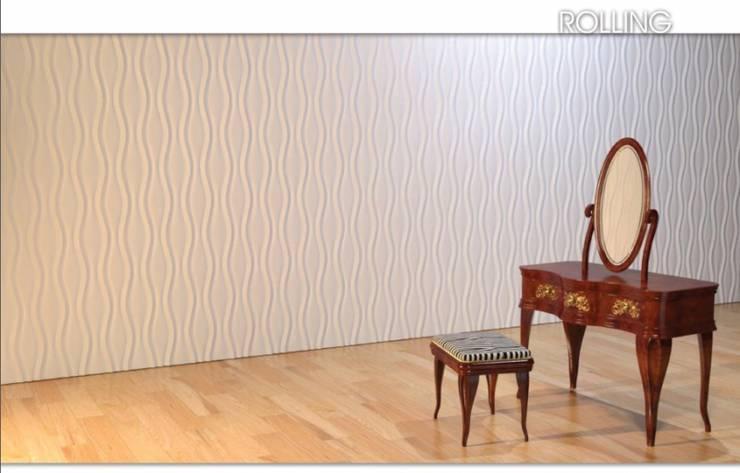 Panele ścienne 3D - Dunes : styl , w kategorii Ściany zaprojektowany przez DecoMania.pl,