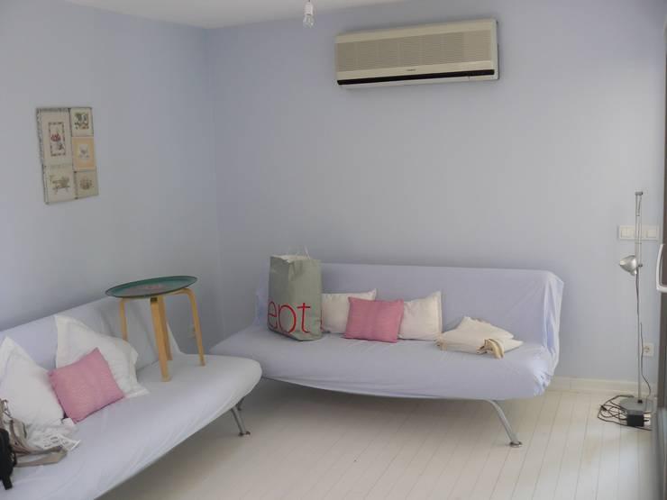 Katizi Mimarlık – salon: akdeniz tarzı tarz Oturma Odası