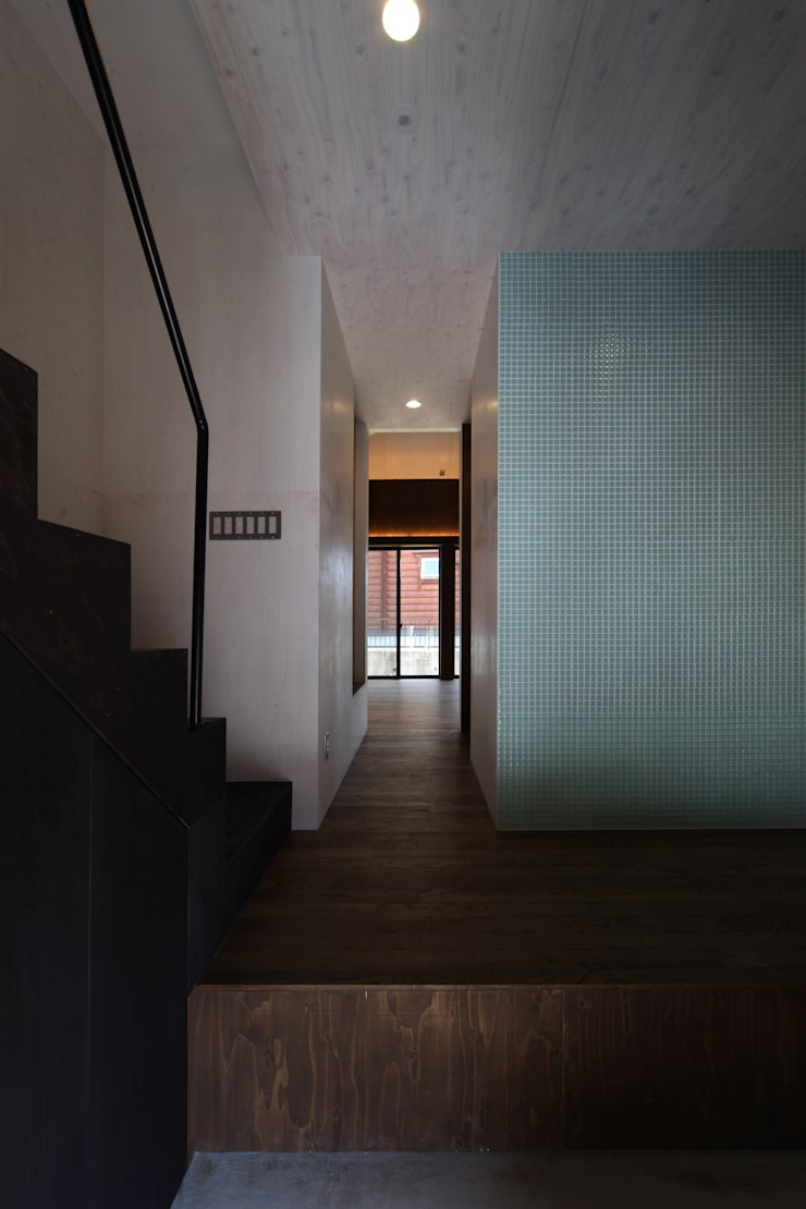 Projekty,  Domy zaprojektowane przez 加門建築設計室, Nowoczesny