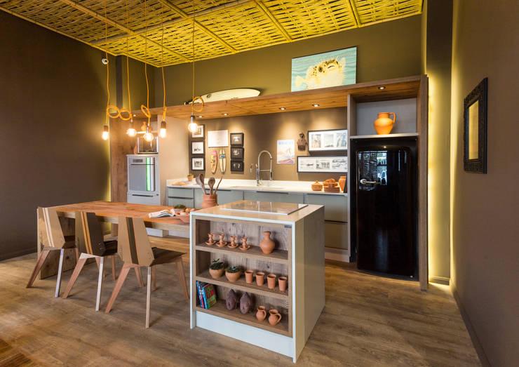 Projekty,  Kuchnia zaprojektowane przez Jean Felix Arquitetura