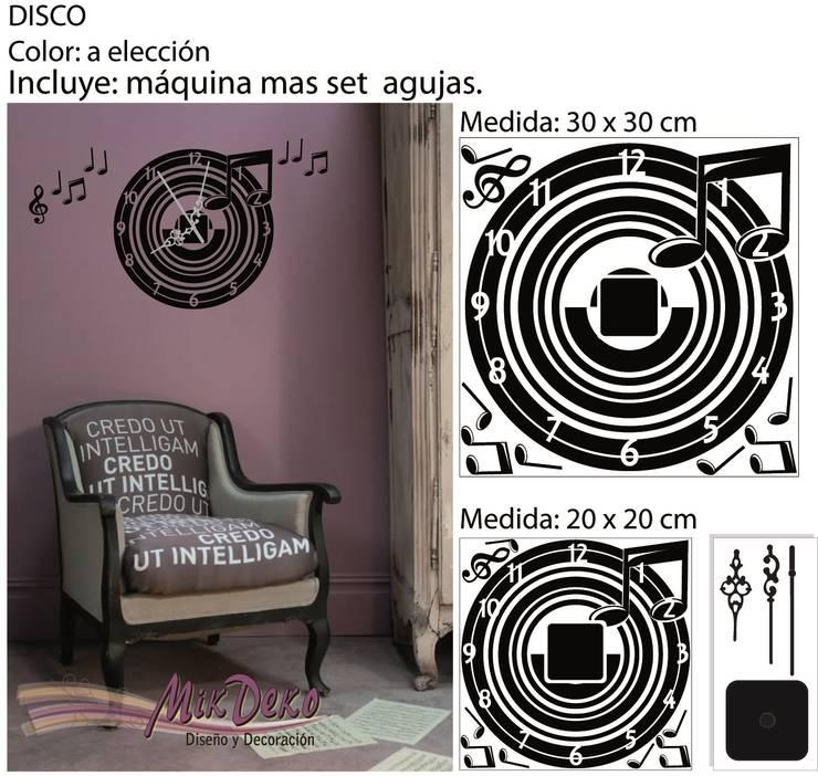 DISCO: Estudio de estilo  por MikDeko