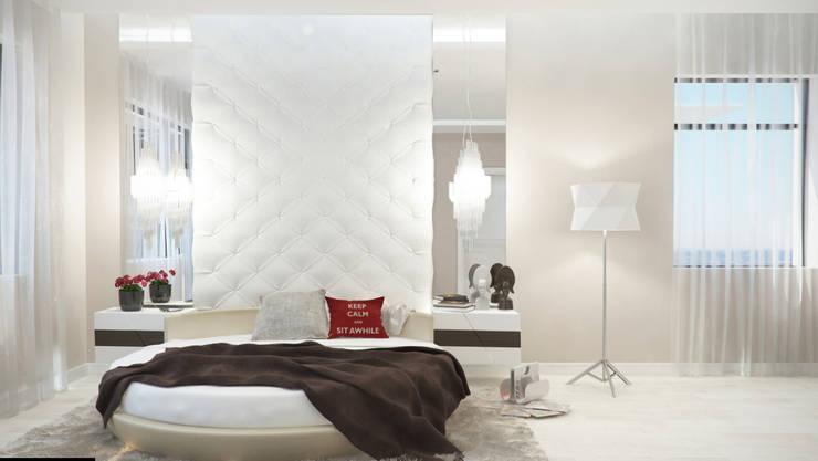 Projekty,  Sypialnia zaprojektowane przez Art Style Design