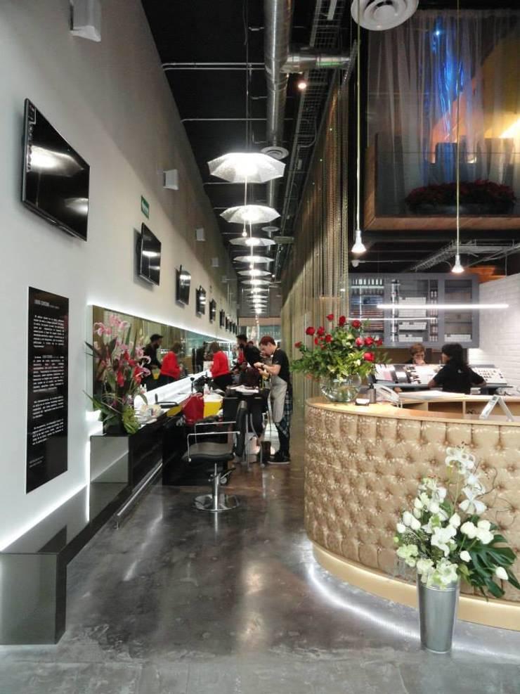 Centro de Diseño de Imagen: Oficinas y tiendas de estilo  por Fabrica210