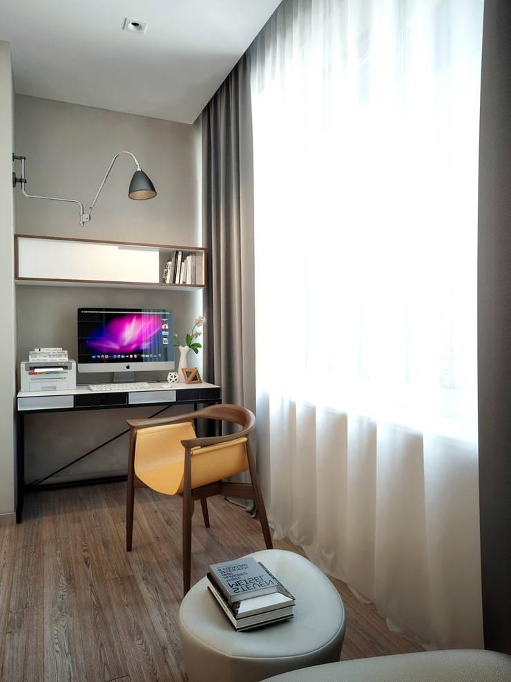 Квартира на Ленинградском шоссе: Tерраса в . Автор – Михаил Новинский (MNdesign)