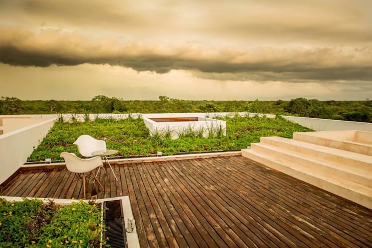 OM: Terrazas de estilo  por FGO Arquitectura