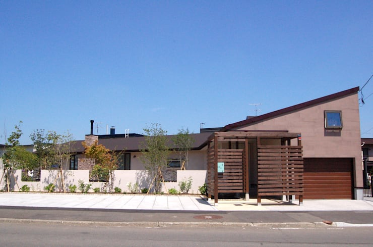 O house: TAC一級建築士事務所が手掛けた家です。