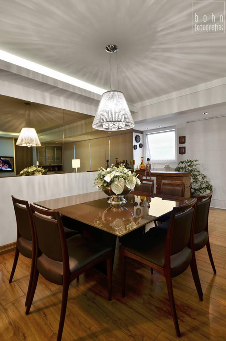 SALA DE JANTAR: Salas de jantar  por LizRibeiro Arquitetura