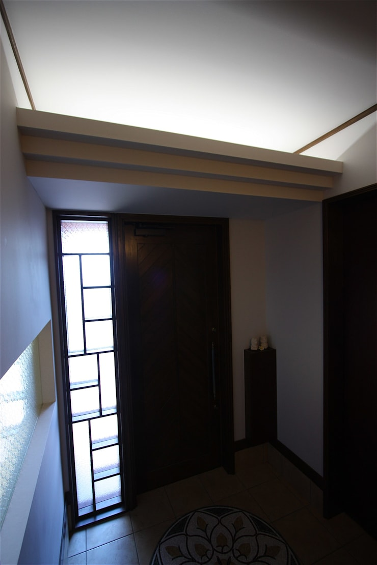 Asian walls & floors by atelier shige architects /アトリエシゲ一級建築士事務所 Asian Wood Wood effect