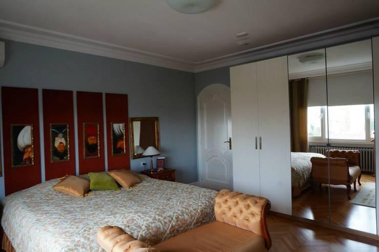 Bozantı Mimarlık – Erenköy'de Ev: modern tarz Yatak Odası