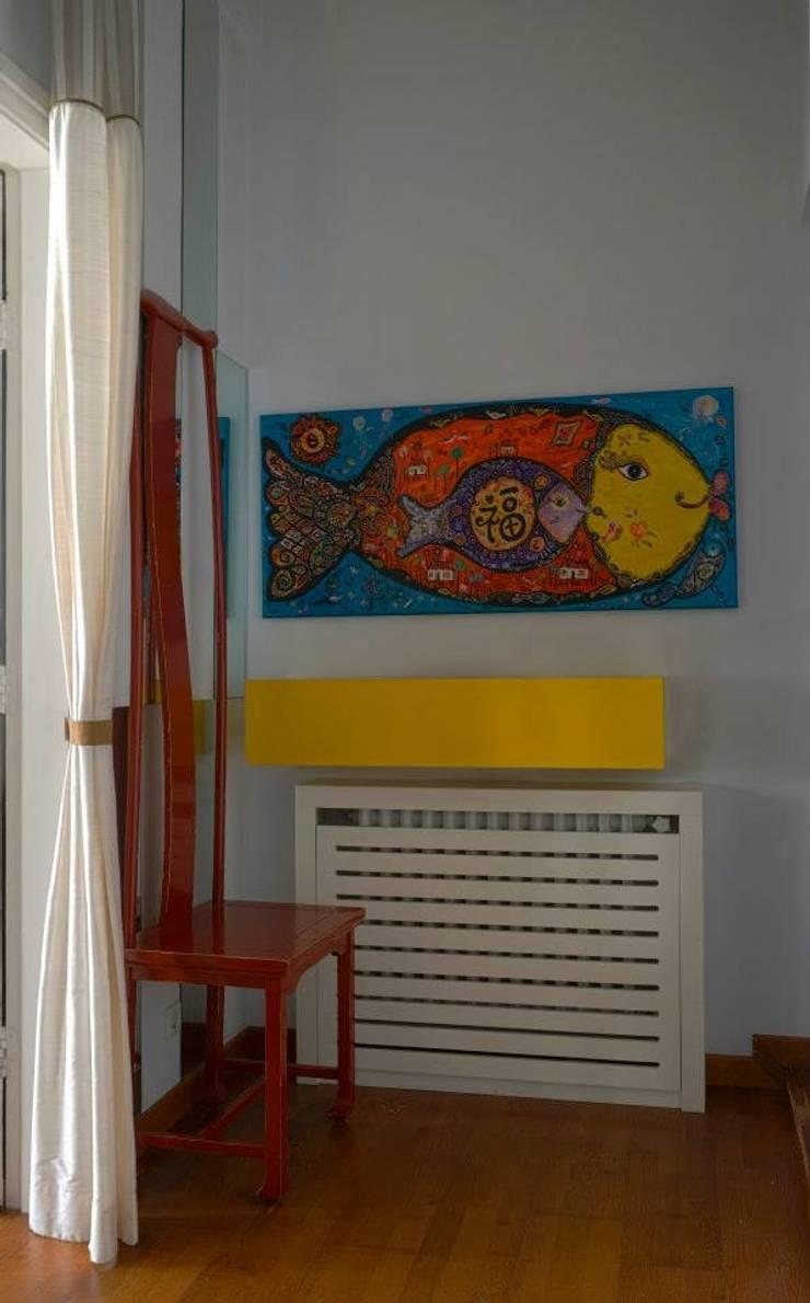 Bozantı Mimarlık – Bebekte Ev:  tarz Oturma Odası