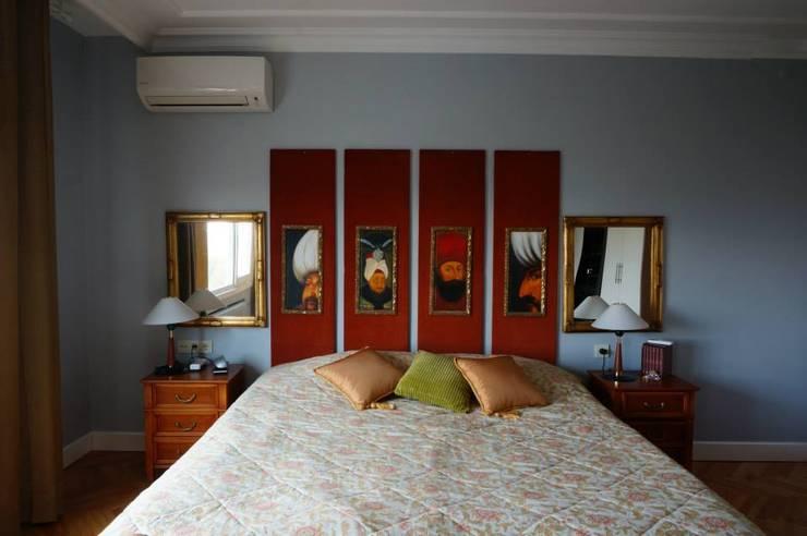Bozantı Mimarlık – Erenköy'de Ev:  tarz Yatak Odası