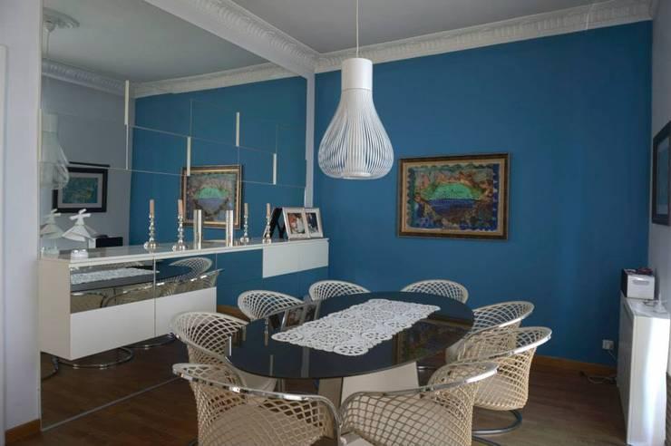 Bozantı Mimarlık – Bebekte Ev:  tarz Yemek Odası, Modern