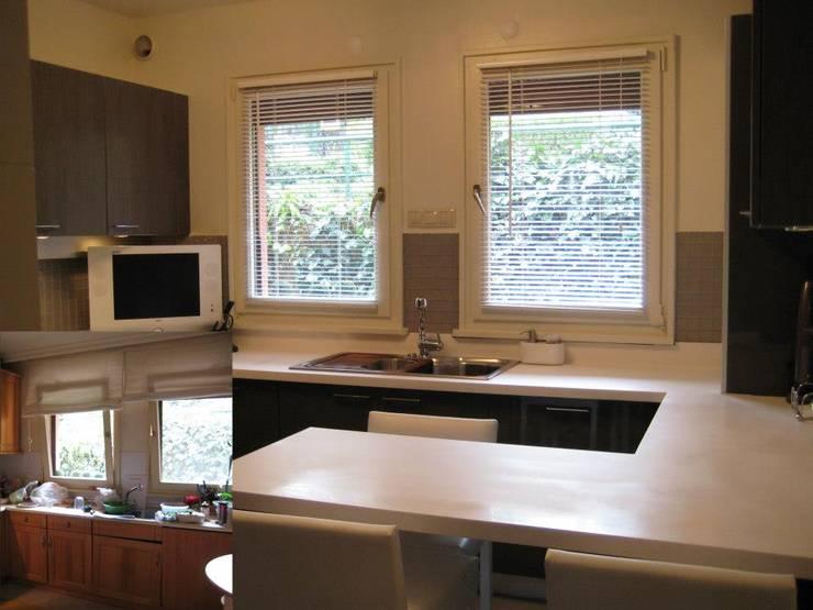 Bozantı Mimarlık – Baheşehirde Ev:  tarz Mutfak
