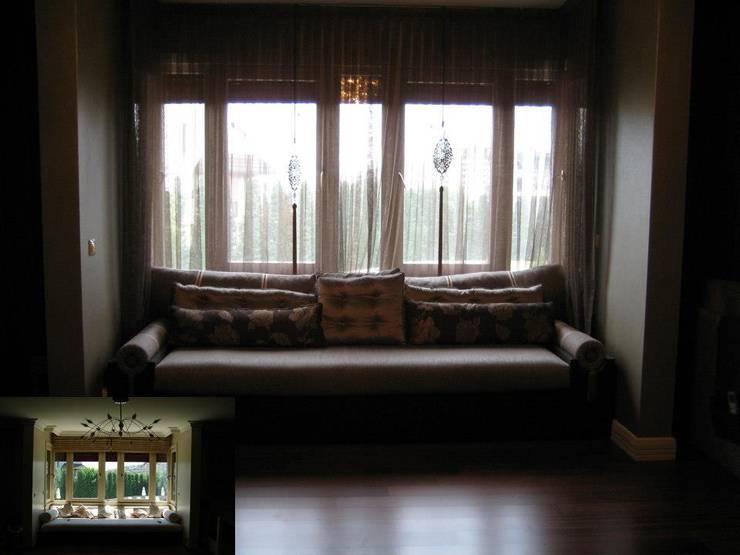 Bozantı Mimarlık – Baheşehirde Ev:  tarz Oturma Odası