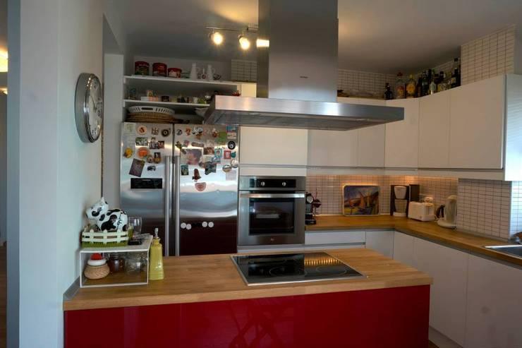 Bozantı Mimarlık – Kalamış'ta Ev:  tarz Mutfak, Modern
