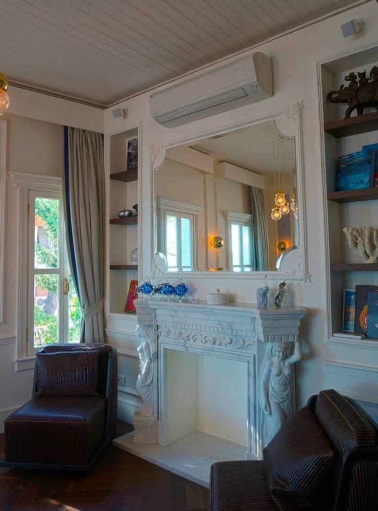 Bozantı Mimarlık – Gazebo Restaurant Yeniköy:  tarz Yatak Odası