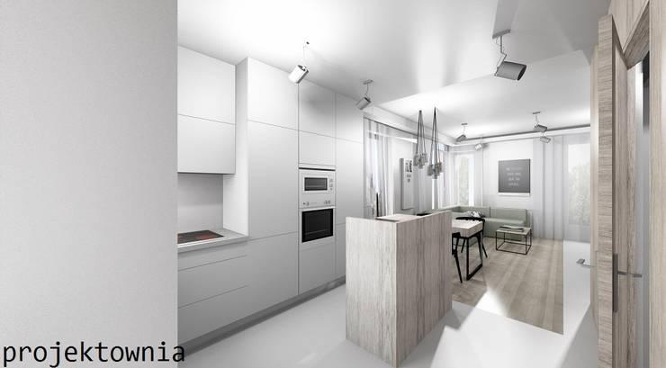 Kuchnia: styl , w kategorii Kuchnia zaprojektowany przez Projektownia Marzena Dąbrowska