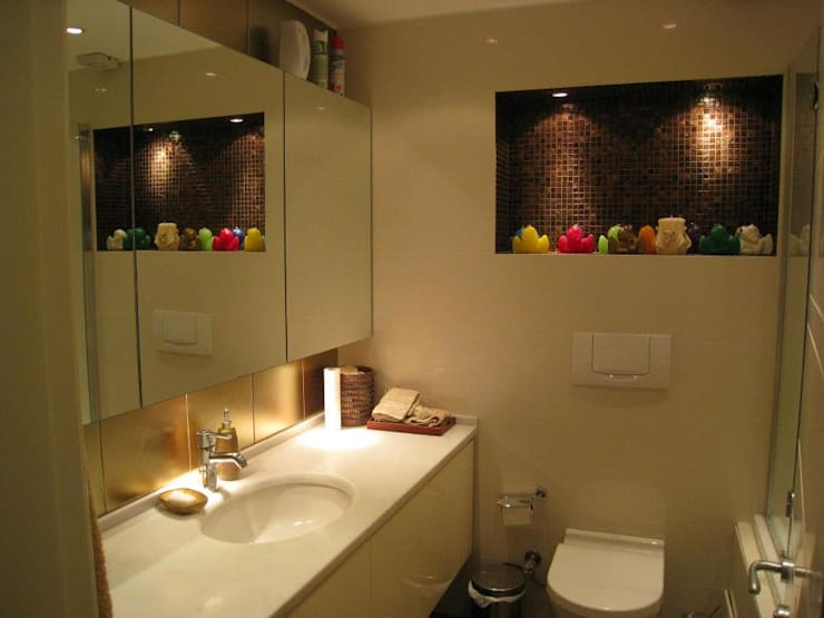 Bozantı Mimarlık – Ulus'ta Ev No.3:  tarz Banyo