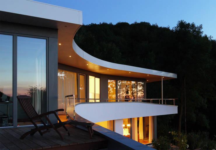 Terrazas de estilo  por K2 Architekten GbR