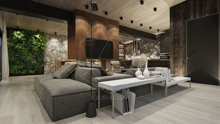 Living room by homify