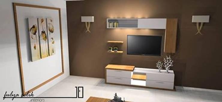 cyprus interiors – LUNA tv ünitesi:  tarz Oturma Odası