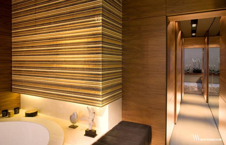 Bathroom by Bartek Włodarczyk Architekt