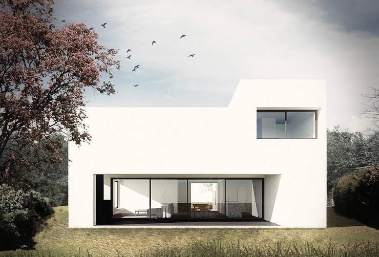 CASA SL : Casas de estilo  por NIA estudio,