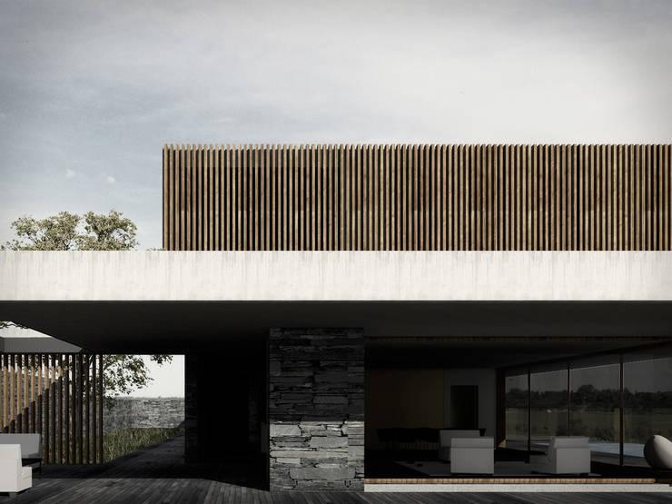 CASA GD: Casas de estilo  por NIA estudio