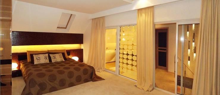 Спальни в . Автор – дизайн-студия Олеси Середы