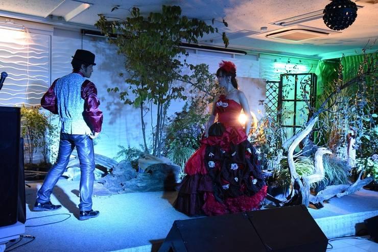 歌庭ユニット オペラカルメン: 株式会社冬樹庭園が手掛けた庭です。