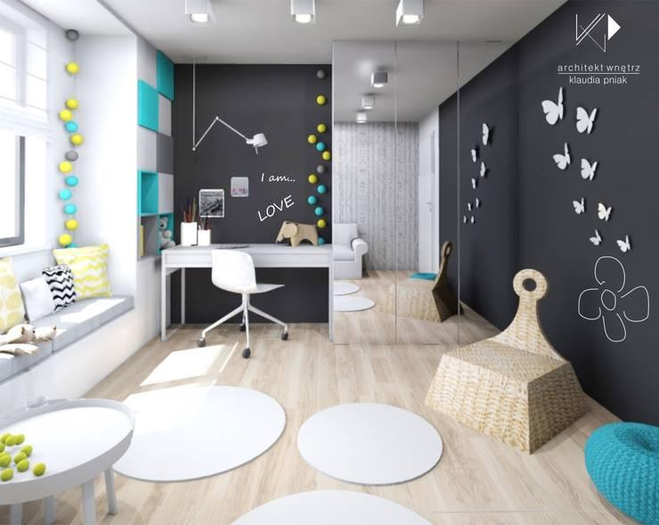 Pokój 7-latki: styl , w kategorii Pokój dziecięcy zaprojektowany przez Architekt wnętrz Klaudia Pniak