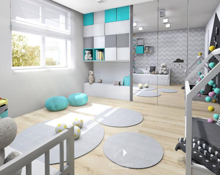Pokój 2-latki: styl , w kategorii Pokój dziecięcy zaprojektowany przez Architekt wnętrz Klaudia Pniak