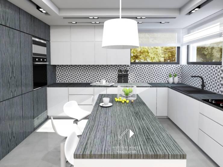 Kuchnia: styl , w kategorii Kuchnia zaprojektowany przez Architekt wnętrz Klaudia Pniak,