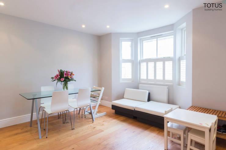 modern Living room by TOTUS