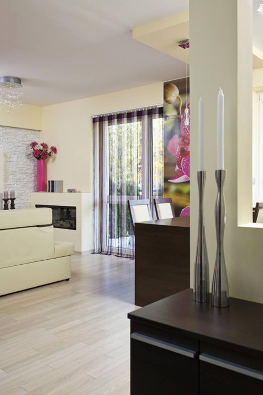 Nowoczesne mieszkanie w Krakowie: styl , w kategorii Salon zaprojektowany przez ARTEMA  PRACOWANIA ARCHITEKTURY  WNĘTRZ ,Nowoczesny