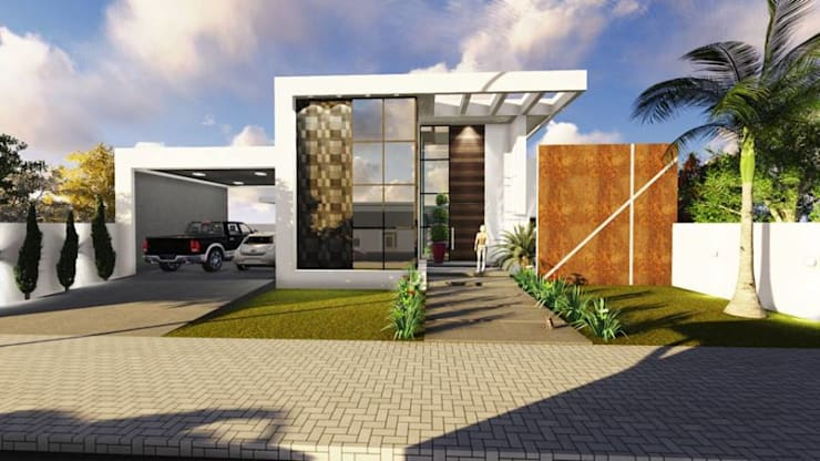 RESIDÊNCIA A.J: Casas  por BOULEVARD ARQUITETURA,