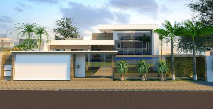 RESIDÊNCIA S.M: Casas  por BOULEVARD ARQUITETURA,