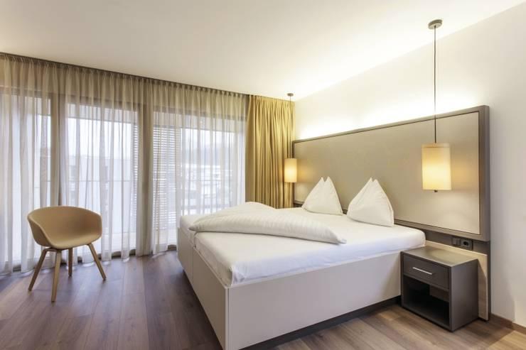 schöne vorhänge für schlafzimmer mit stil
